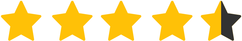 Four and half Stars Rating Site